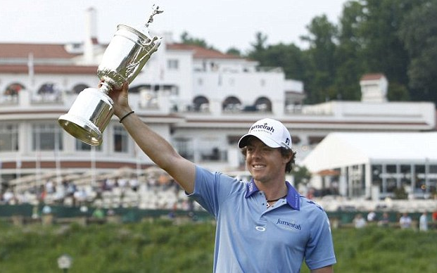 Rory McIlroy's Record Breaking 111th US Open 2011