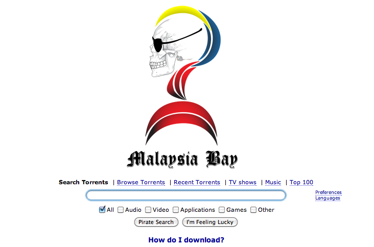 Can't Access Pirate Bay? Use Malaysia Bay instead