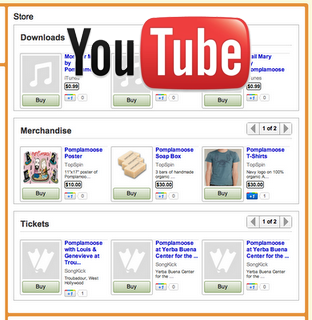 YouTube Lets Musicians Sell Merchandise, Song Downloads and More…