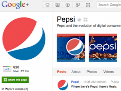 Google+ Launches Pages for Brands