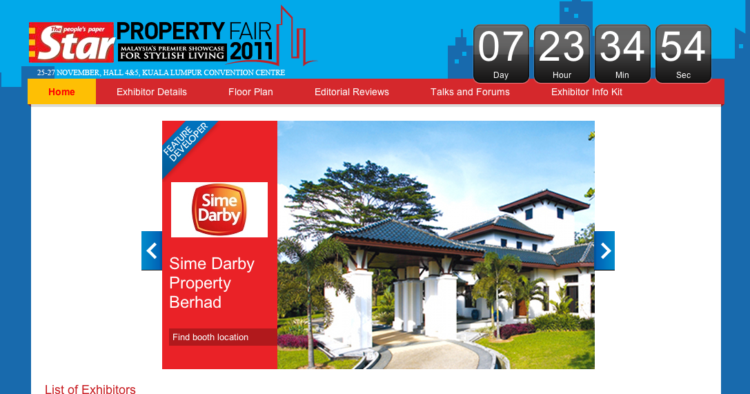 TheStar Property Fair 2011