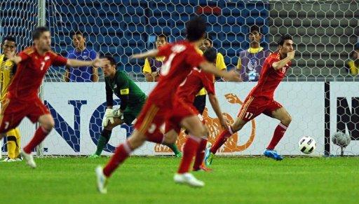 Malaysia 0-2 Syria