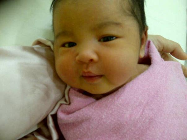 Leia Rose – SM Nasarudin & Marion Caunter Daughter (pic)