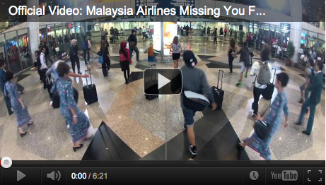 Official Video: Malaysia Airlines Missing You Flashmob at KLIA
