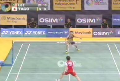 Lee Chong Wei vs Kenichi Tago | Malaysia Open 2012 FINAL Video