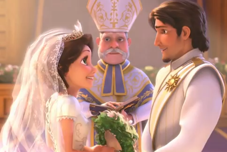 Tangled Ever After – (The Rings Scene) – Video