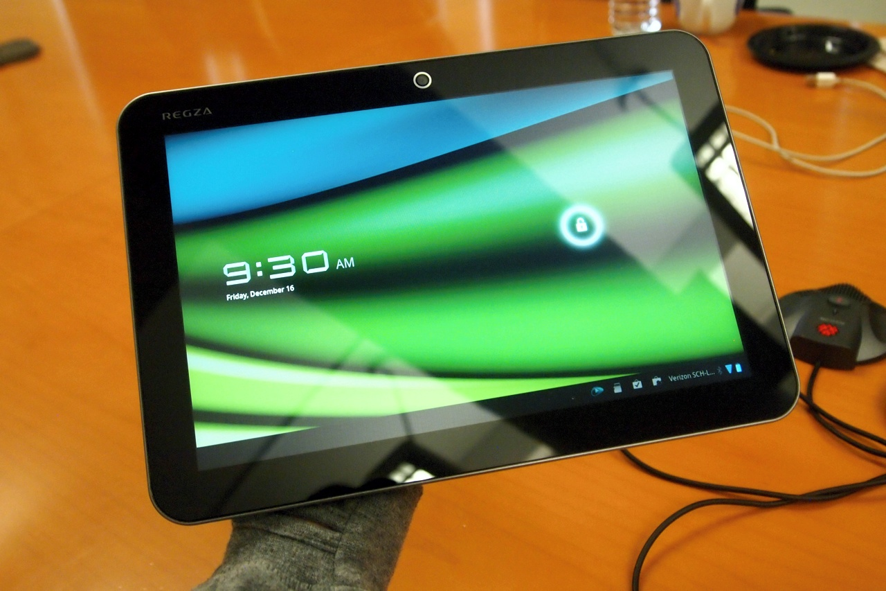 Toshiba Excite 10-inch Android tablet – only 0.3 inches thick