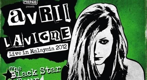 Avril Lavigne Live in Malaysia February 2012