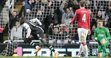Newcastle beats Man Utd 3-0 To dent The Red Devils title hopes