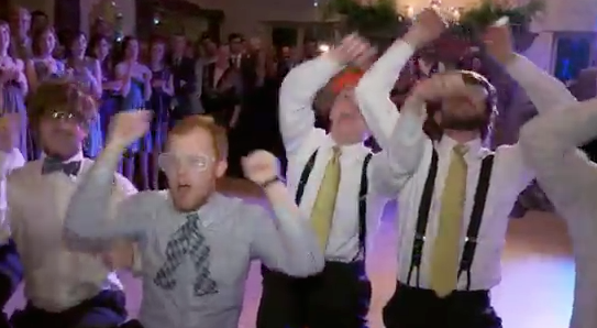 Guy Dances to Justin Bieber's Song at His Wedding – Video