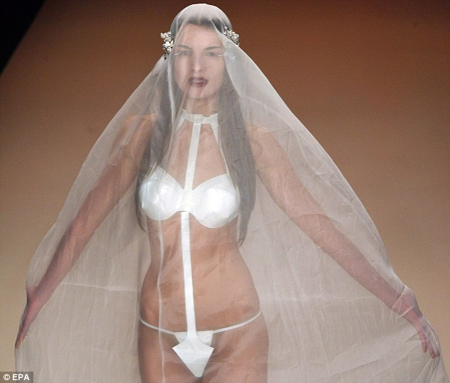 G-string wedding dress – Probably Not Something You Would Want For Your Wedding