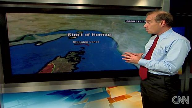 BREAKING: Iran Test Missiles in Strait of Hormuz