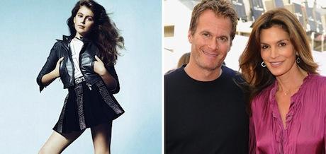 Kaia Gerber – Cindy Crawford's Daughter Makes her modeling Debut