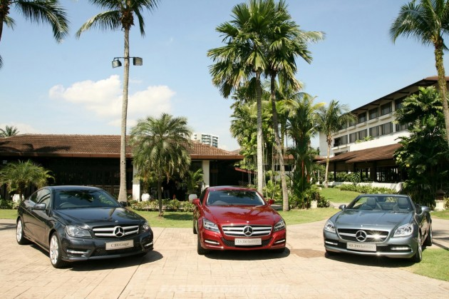 Mercedes-Benz Malaysia Launched New C-Class Coupe, CLS  and SLK