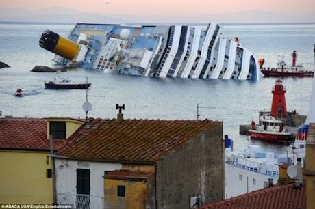Costa Concordia Cruise Tragedy Evokes Memory of Titanic