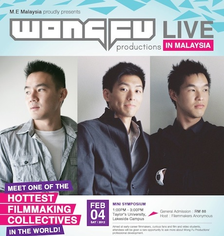 Wong Fu Productions LIVE in Malaysia February 2012