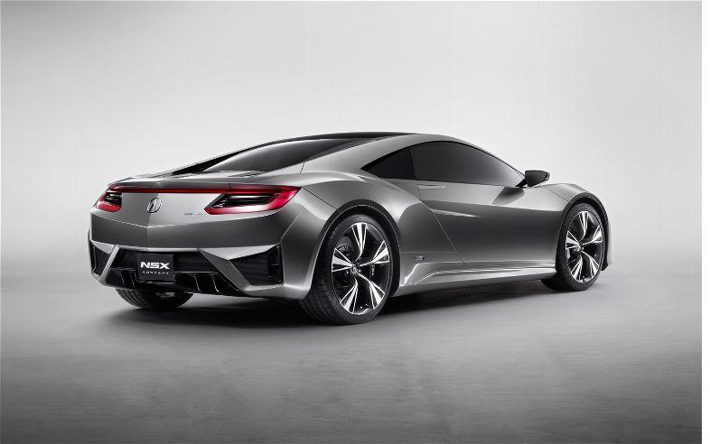 Acura NSX Concept Car ( Video & Photos)