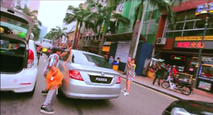 Fake Water Gun Fight in Bukit Bintang by RandomAlphabets