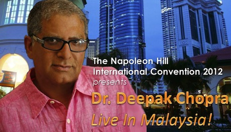 Dr. Deepak Chopra Live in Malaysia