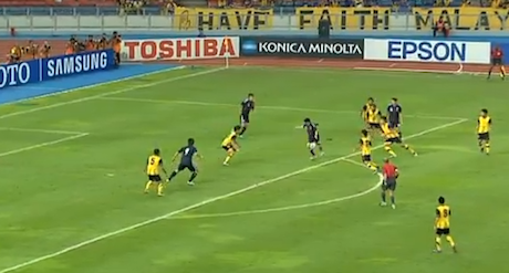 Video: Japan Trash Malaysia 4-0 (Olympics Qualifier)