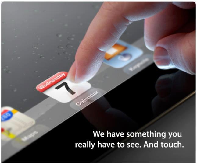 Apple's iPad 3 will set to launch on 7th March 2012