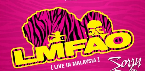 LMFAO LIVE in Malaysia at Sunway Lagoon April 2012