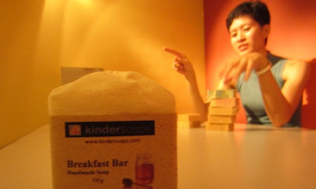Business Feature: Michelle Ho of kindersoaps.com