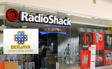 Berjaya plans to open 1,000 RadioShacks in Asia