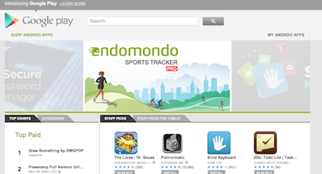Google Introduces Google Play – no more Android Market