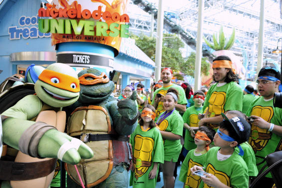 Cowabunga Dude! Teenage Mutant Ninja Turtles (TMNT) break world record at MOA