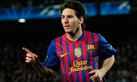 Barcelona 2-0 Racing Santander – Messi Scores a brace