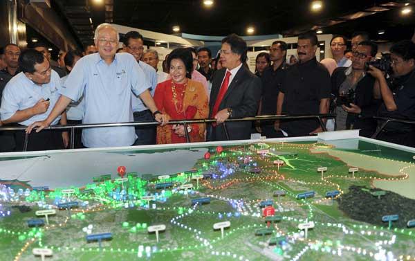 27 Entry Point Projects (EPPs) for Iskandar Malaysia – Najib