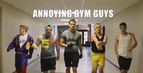 "Don't Be ""That Guy"" at the Gym – Video"