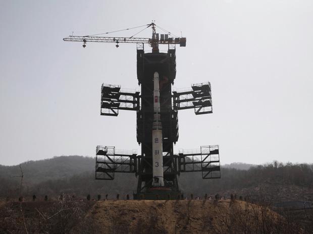 North Korea Launches Rocket, Fails.