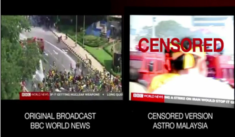 VIDEO: Astro admits to censoring BBC Bersih 3.0 report