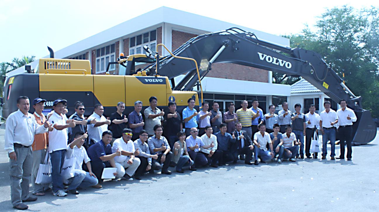 Volvo Construction Equipment Introduced CareTrack Telematics System