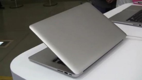 """Android Book"" The Macbook Air Clone Running Android 4.0"