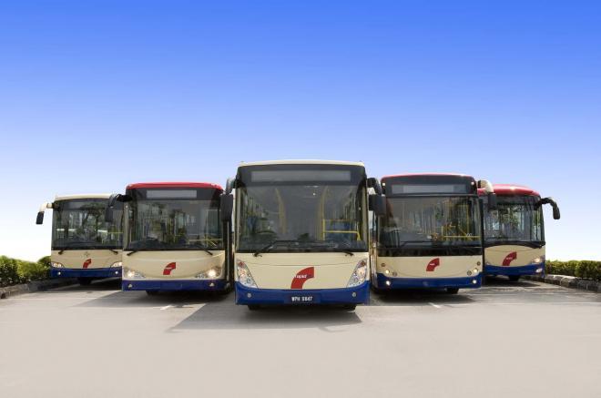 RapidKL Buses Go Green