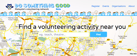 Do Something Good – Malaysia's Volunteering Network Launch (Video)
