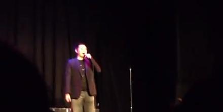 Douglas Lim Live On Stage In Sydney
