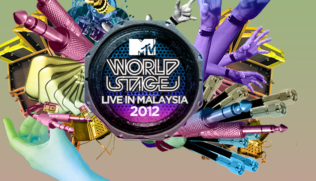 MTV World Stage Live in Malaysia 2012