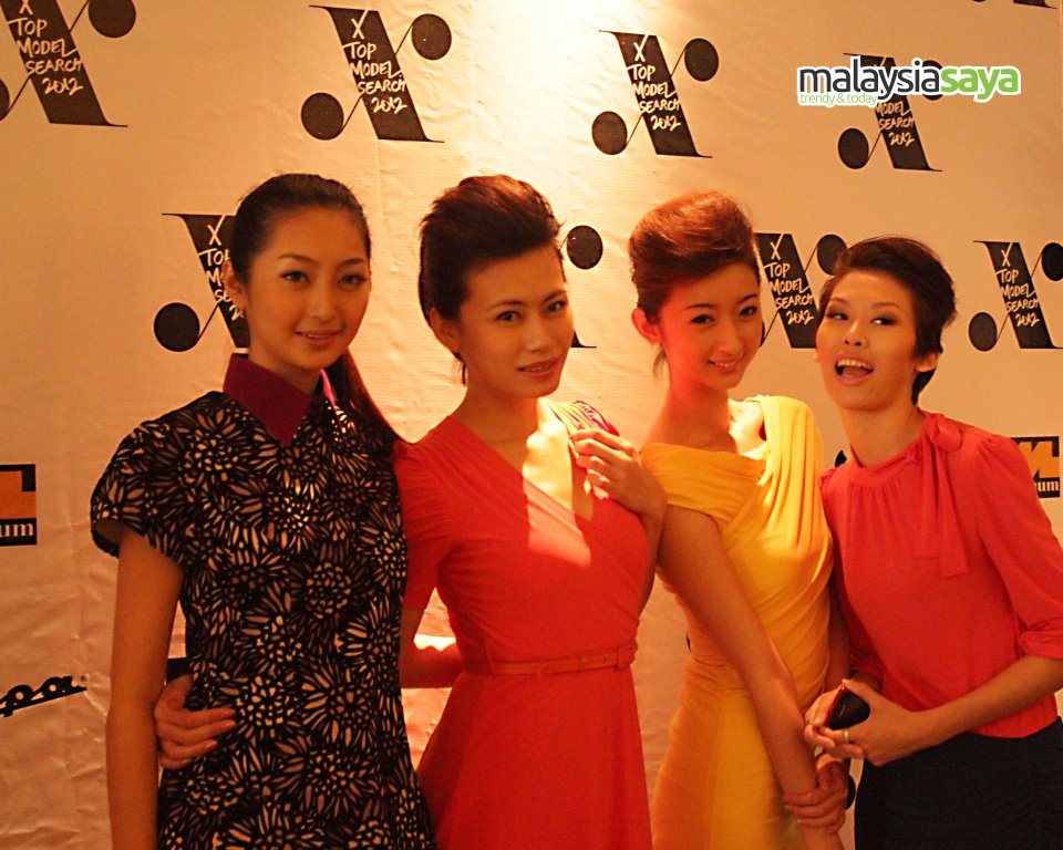 X Top Model Search 2012 Official Media Launch