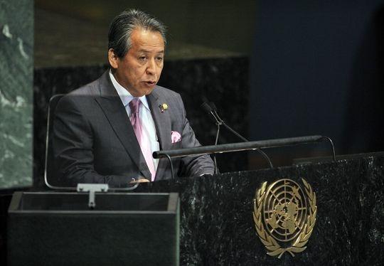 Datuk Seri Anifah Aman Delivers Malaysia's statement at the UNGA