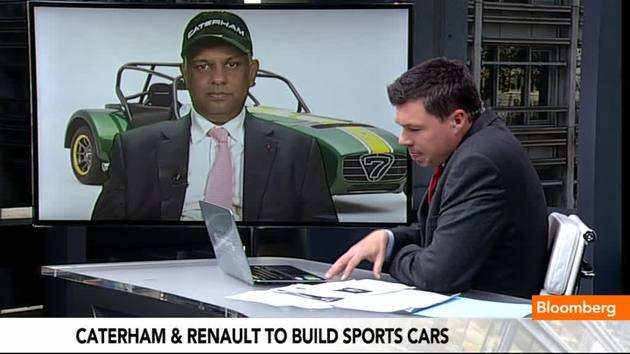 Tony Fernandes teamed up with Renault to design and build sports vehicles