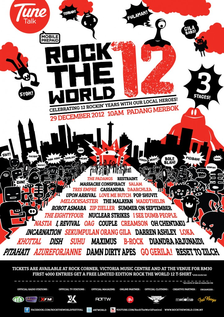 Rock The World Festival December 2012