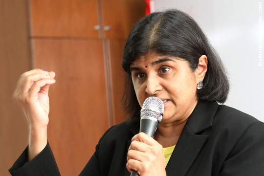It is an offence to provide flights for voters – Ambiga