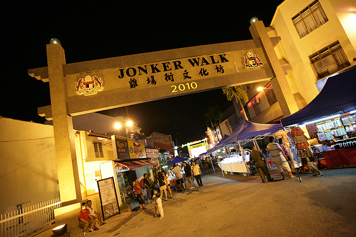 Malacca Government to shut down Jonker Walk