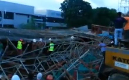 Penang Second Bridge Collapse – Video