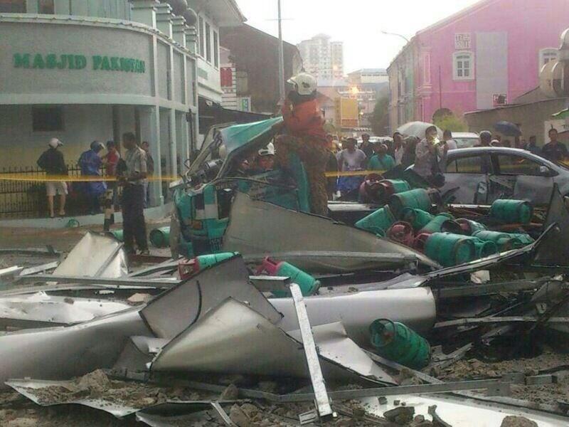 Massive Storm Hits Penang June 13th 2013