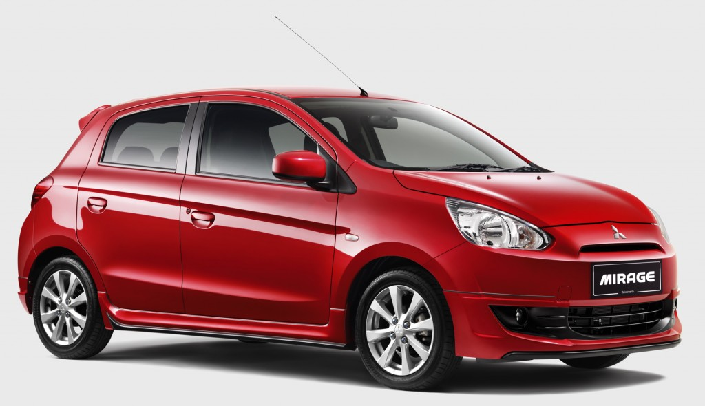 2013 Mitsubishi Mirage Sports Car